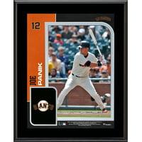 "Joe Panik San Francisco Giants 10.5"" x 13"" Sublimated Player Plaque"