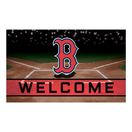 Boston Red Sox Crumb Rubber Door Mat