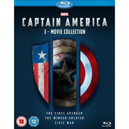 Captain America 1992 Movie (CAPTAIN AMERICA 3 MOVIE BLU RAY)