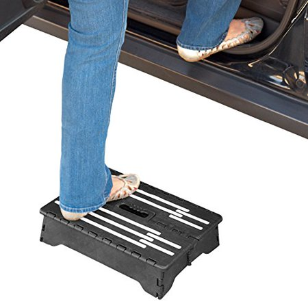 North American Health+Wellness ZB7571 Portable Folding Step - Batman Step By Step