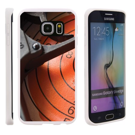 timeless design 7d6a3 23130 Samsung Galaxy S6 Edge G925, Flexible Case [FLEX FORCE] Slim Durable TPU  Sleek Bumper with Unique Designs - Trigger and Target