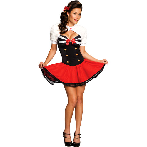 Naval Pinup Adult Halloween Costume