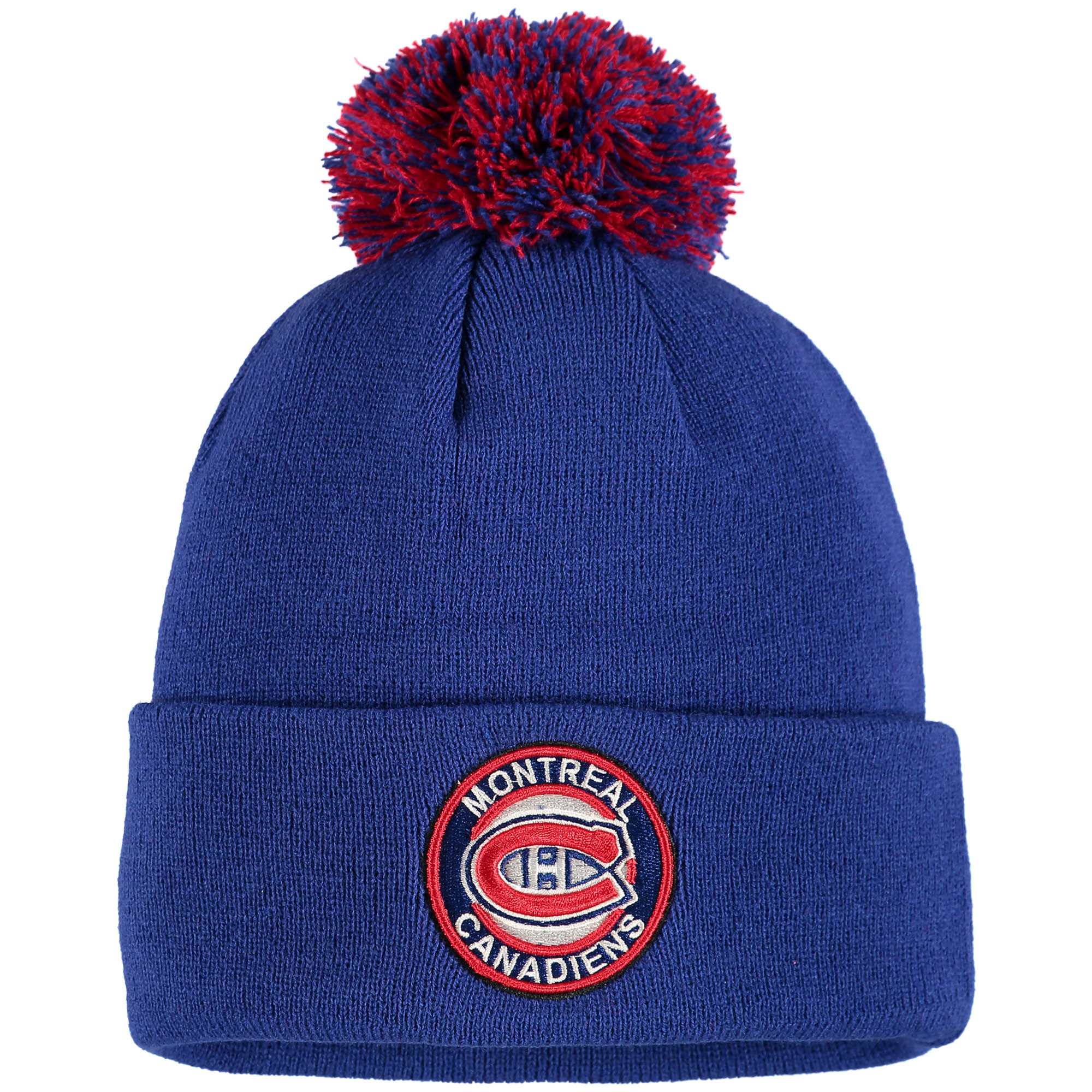 Montreal Canadiens Zephyr Seal Cuffed Knit Hat - Navy - OSFA
