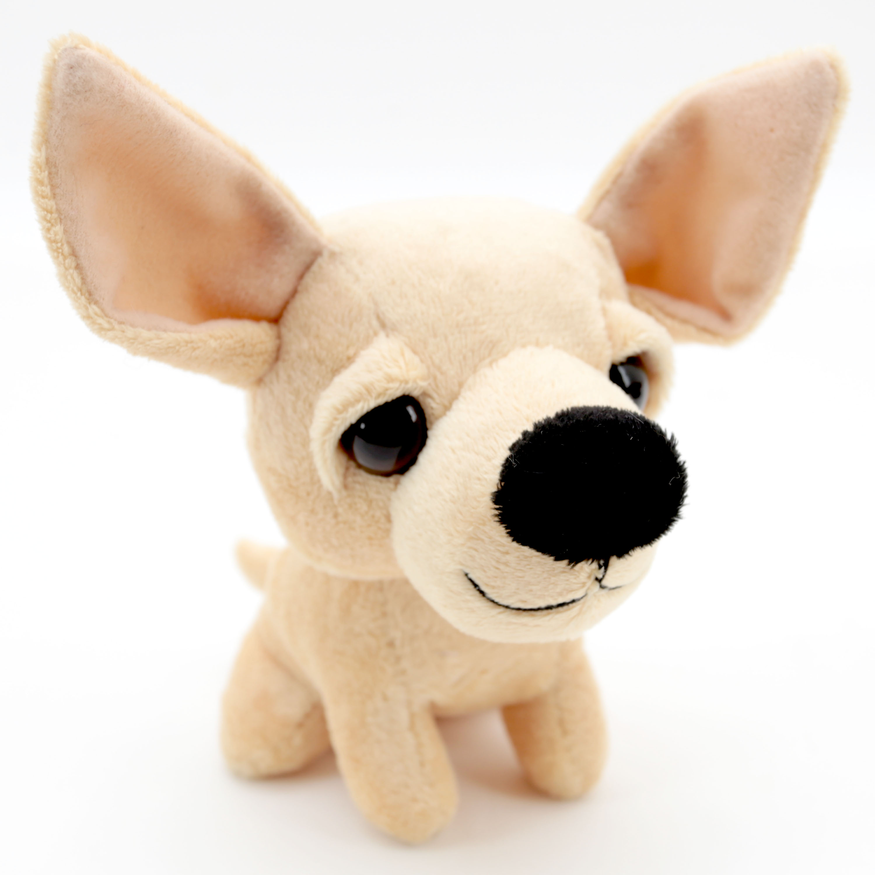 5 Inch Squeeze N Talk Puppy Plush Stuffed Toy Chihuahua