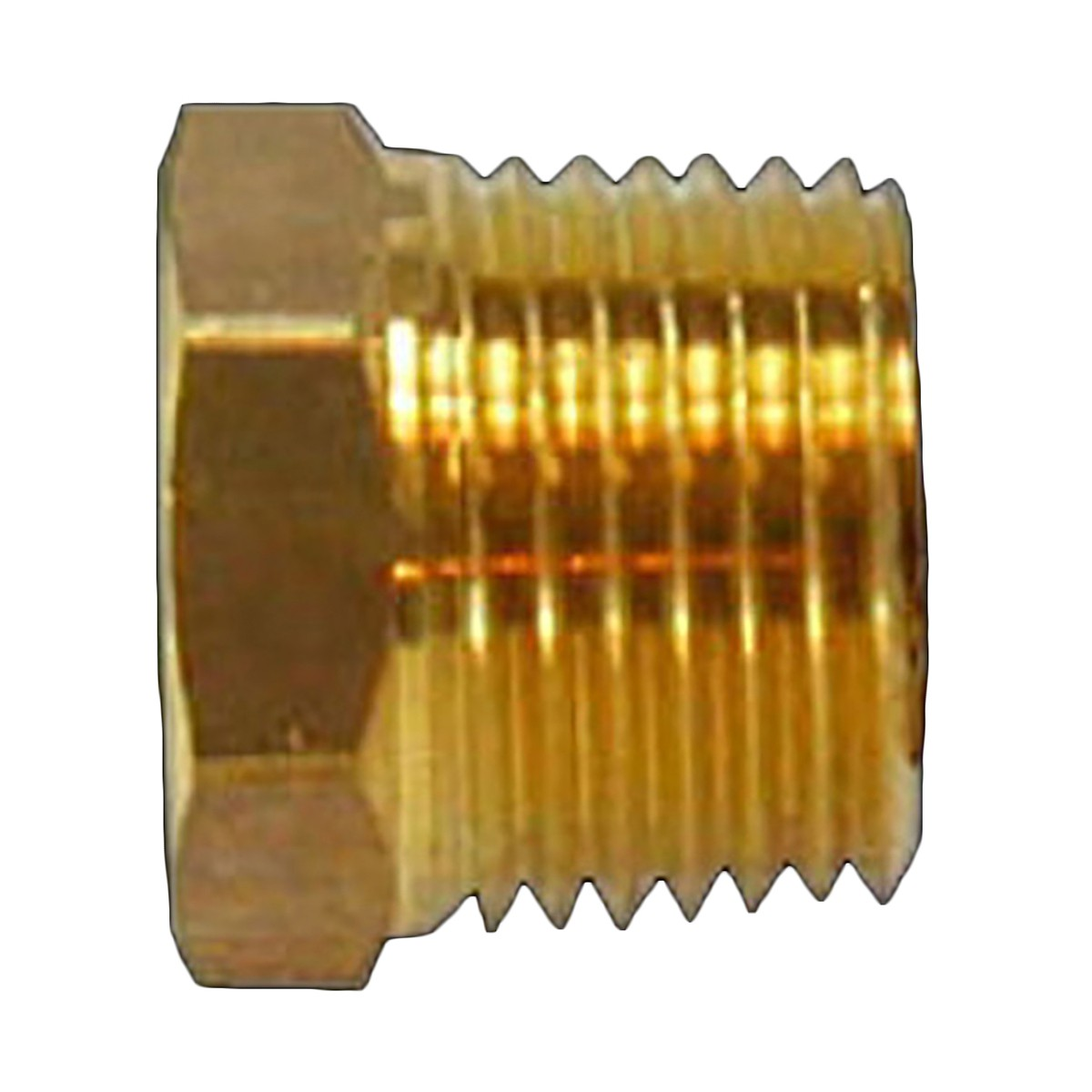 "Reducing Bushing 1/2"" Male 3/8"" Female Solid Brass 