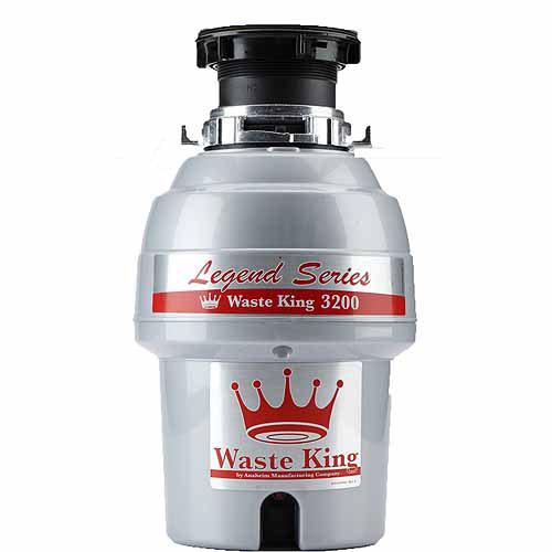 Waste King 3200 Legend Series 3/4 HP EZ-Mount Sound Insulated Garbage Disposer