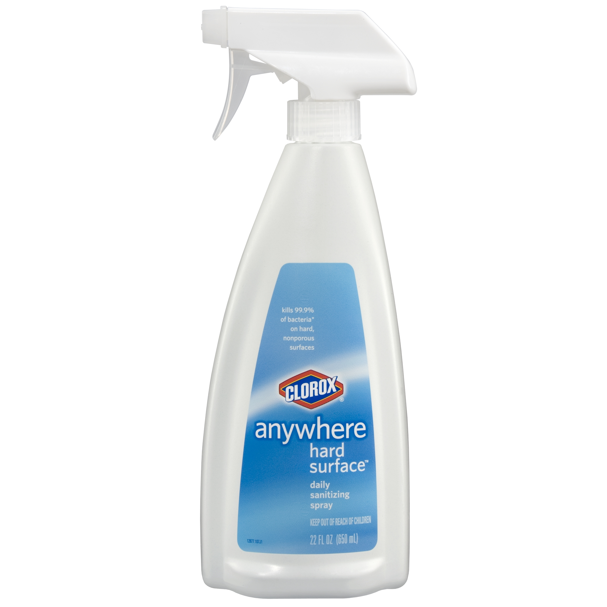 Clorox Anywhere Hard Surface Daily Sanitizing Spray, 22 oz