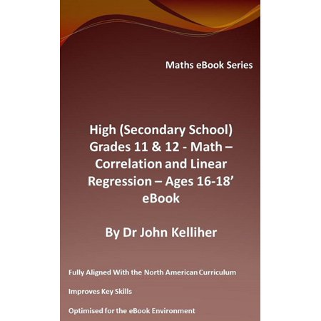 Halloween Color By Number Math Sheets (High (Secondary School) Grades 11 & 12 - Math - Correlation and Linear Regression - Ages 16-18 - Cover Sheet -)