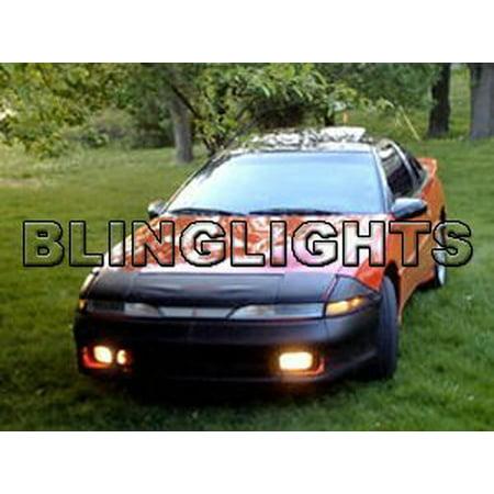 1991 Laser - 1990 1991 Plymouth Laser JDM DSM Foglamps Foglights Fog Lamps Driving Lights drivinglights Kit
