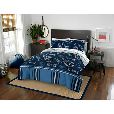 NFL Tennessee Titans Bed In Bag - Titans Tennessee
