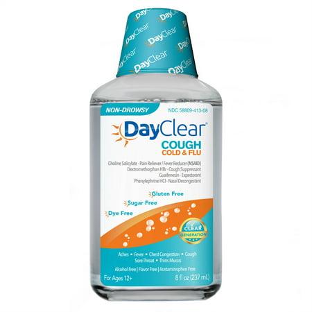 DayClear contre la toux rhume et grippe, 8 Oz Fl