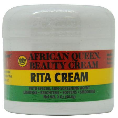 Crème de Beauté Rita Crème 2 Oz - 56.6g avec l'agent d'écran spécial Sun