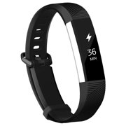 Fitbit Alta Bands Fitbit Alta HR Strap Adjustable Replacement Wrist Bands Soft Silicone Material Strap(Black, Small)