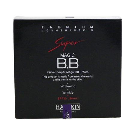Hanskin Perfect Super Magic B.B Cream Whitening Wrinkle SPF30 5X 10ml New In