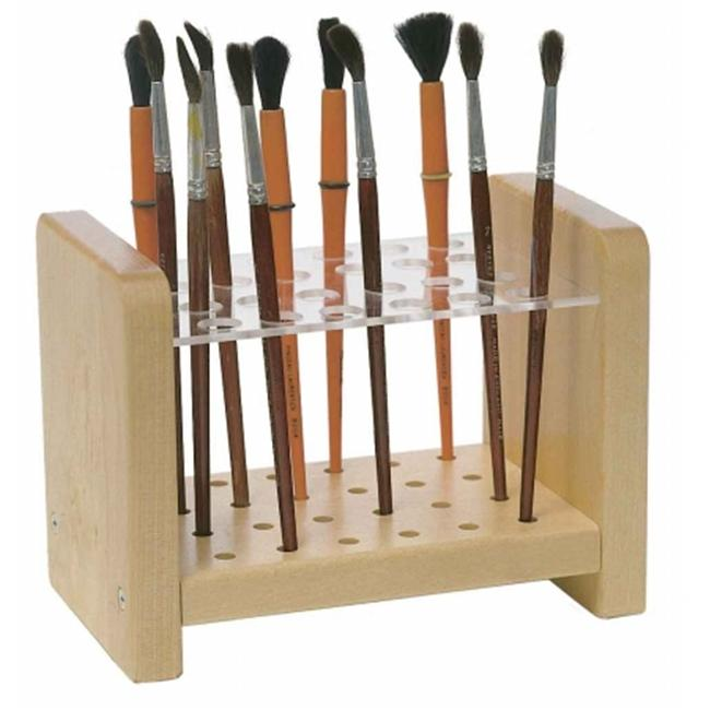 Steffy Wood Products SWP192 Paint Brush Stand