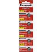 Panasonic CR1220 3 Volt Lithium Coin Battery 25 Pack