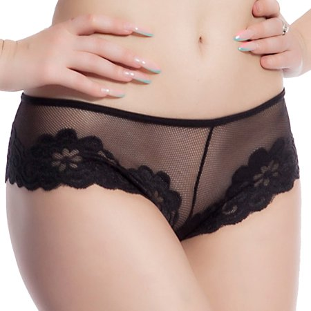 Women Girl Lingerie Briefs Underwear Lace Panty Low Waist Sexy G-string Thongs