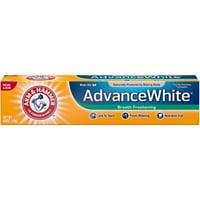4 Pack - ARM & HAMMER Advance White Baking Soda Toothpaste, Winter Mint 6 oz