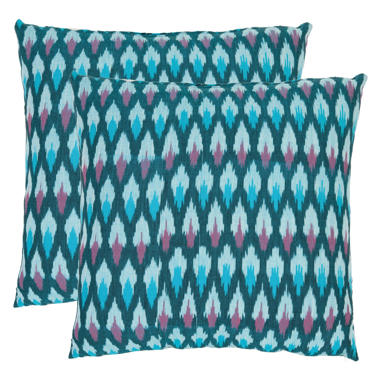 Safavieh Taylor Blue Decorative Pillows - Set of 2