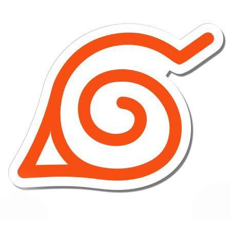 Naruto Konoha Leaf Symbol - Vinyl Sticker Waterproof Decal Sticker 5