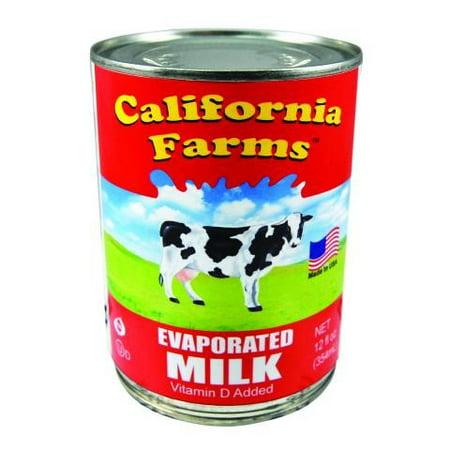 California Farms Evaporated Milk - 12 Ounce