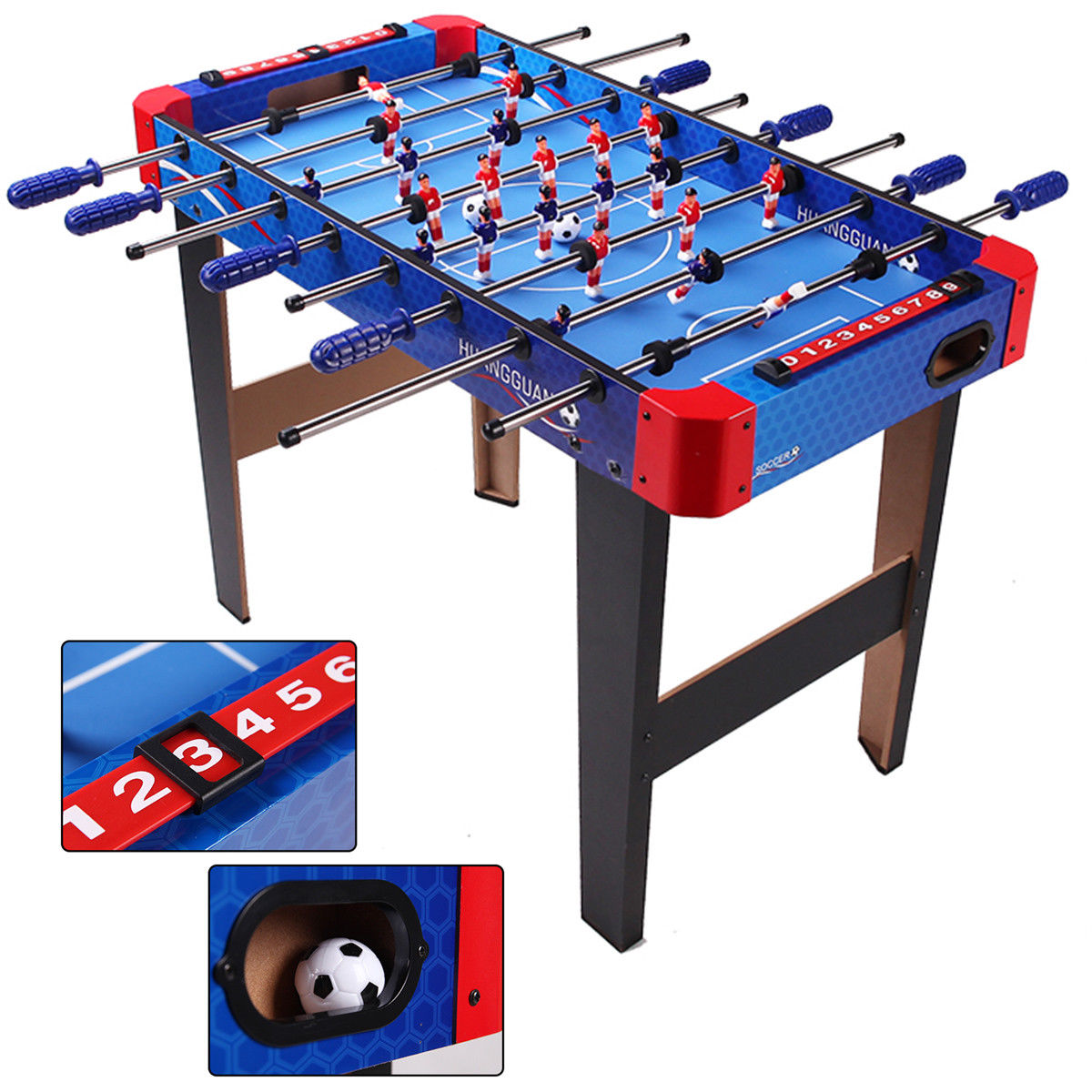Costway 36'' Foosball Table Arcade Game Christmas Gift Soccer For Kids Indooor Outdoor by Costway