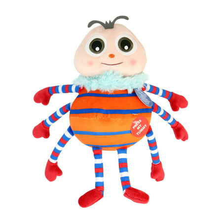Little Baby Bum Musical Spider Incy Wincy, Soft Stuffed Plush