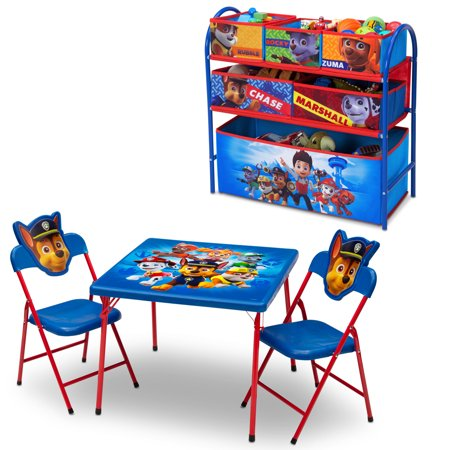Nick Jr. PAW Patrol 4-Piece Toddler Playroom Furniture Set by Delta Children