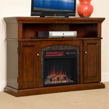 Chimneyfree Lynwood Electric Fireplace Entertainment Center In