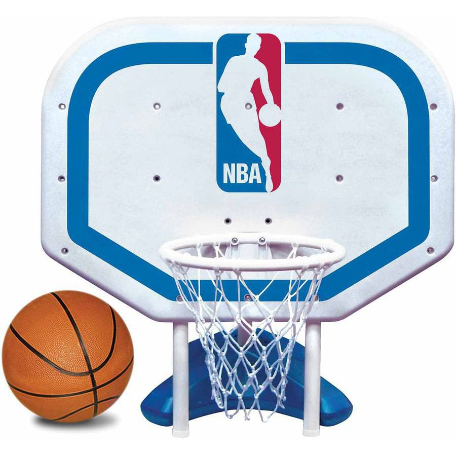 Poolmaster NBA Logo Pro Rebounder-Style Poolside Basketball Game