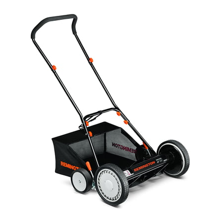 Remington RM3100 18-Inch Reel Push Mower with Rear