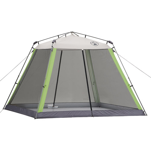 Coleman 10 X10 Instant Canopy Screen House Walmart Com