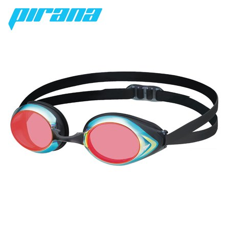 - VIEW Swimming Gear Pirana Master Racing Mirrored Goggles