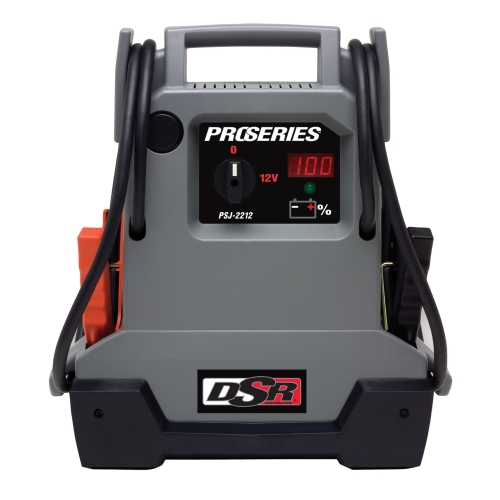 Jump Starter/DC Power Source - 2200 Peak Amps, 330 Cranking Amps, 275 Cold Cranking Amps