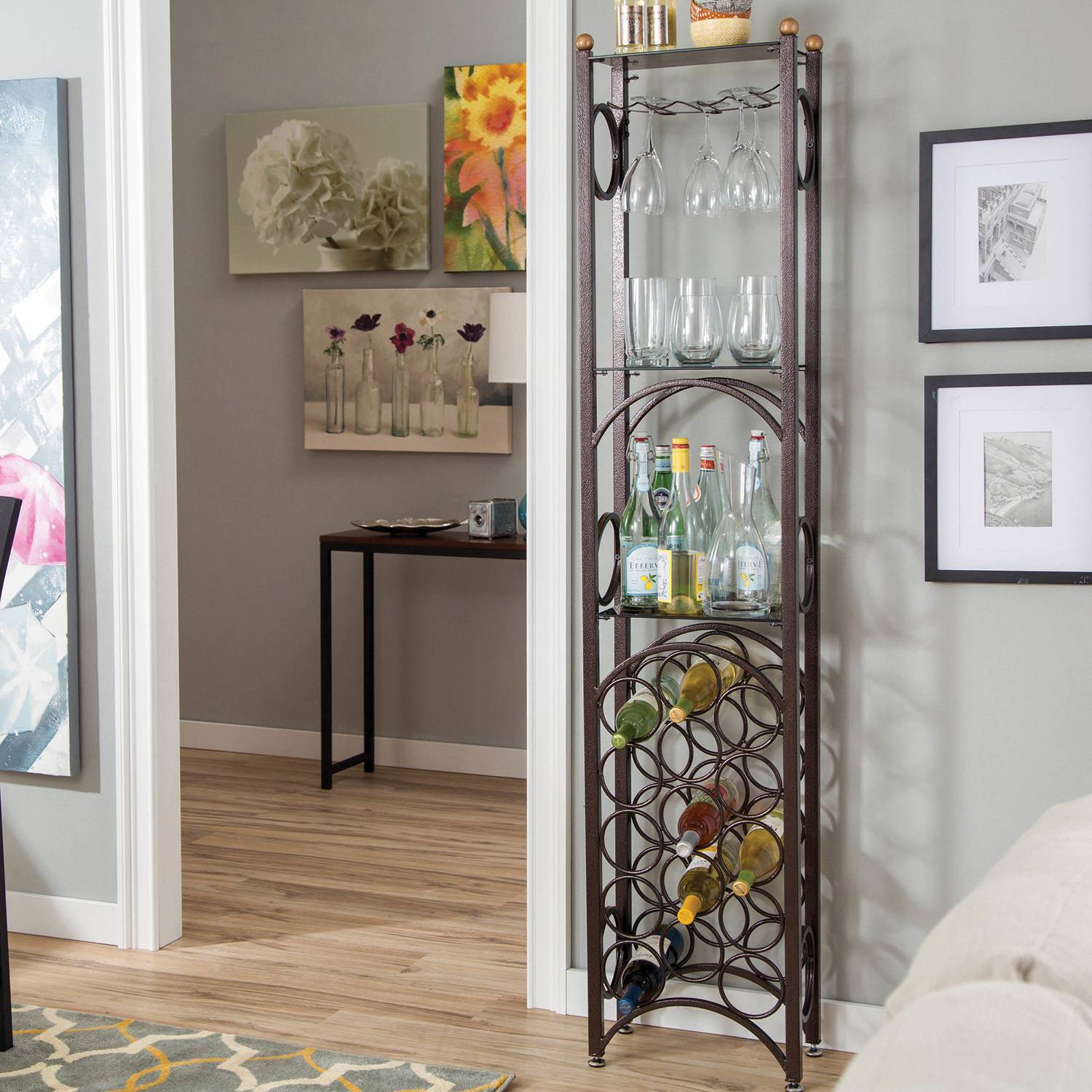 Home Source Bronze Wine Rack by Home Source
