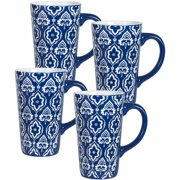 Pfaltzgraff Studio Set Of 4 Mugs, Blue