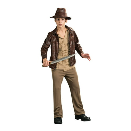 Indiana Jones Deluxe Tween Halloween Costume - Cool Halloween Costume Ideas For Tweens