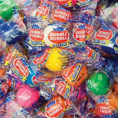 Dubble Bubble Individually Wrapped Gumballs (850 - Gumballs For Sale
