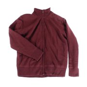 Weatherproof NEW Red Burgundy Mens Size XL Full Zip Mock-Neck Sweater