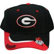 NCAA Georgia Bulldogs One-Fit Adjustable Velcro Hat Cap