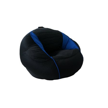 Quot Kahuna Sound Child Gaming Chair Bean Bag Black And Blue