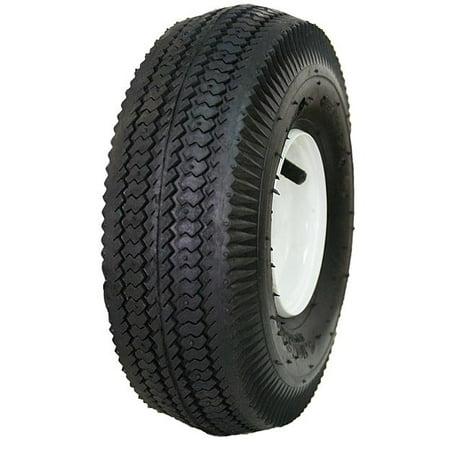 Sawtooth Wheel (Hi-Run 4.10/3.50-4 SAWTOOTH TIRE AND WHEEL)
