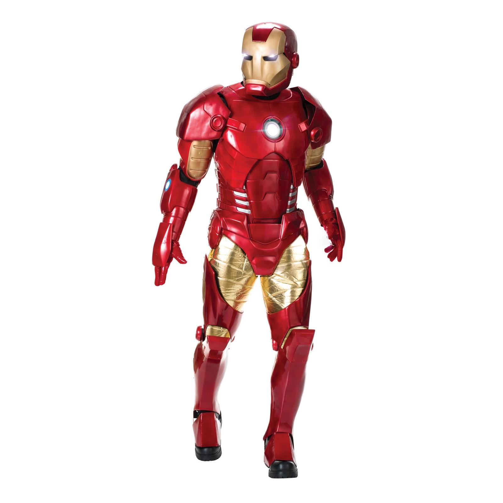 Adult Supreme Edition Iron Man Costume