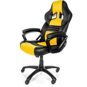 Arozzi Monza Gaming Chair, Yellow