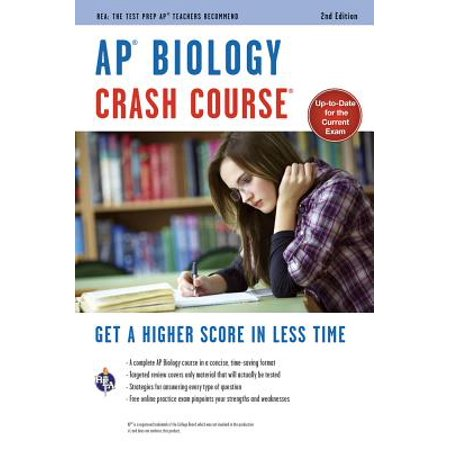 Ap(r) Biology Crash Course, 2nd Ed., Book +