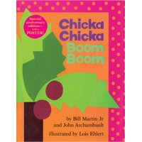 Bill Martin Jr. and John Archambault's Chicka Chicka Boom Boom Special Edition Hardcover Book