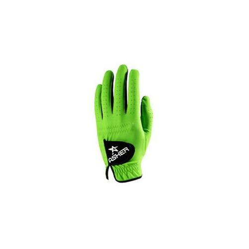 Asher Gloves CKG-ML-S New Chuck  Electric Green Mens Small - pack of 2