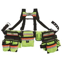 Bucket Boss 55185-HVOY Heavy Duty Framer Rig, Polyester, Multi-Color