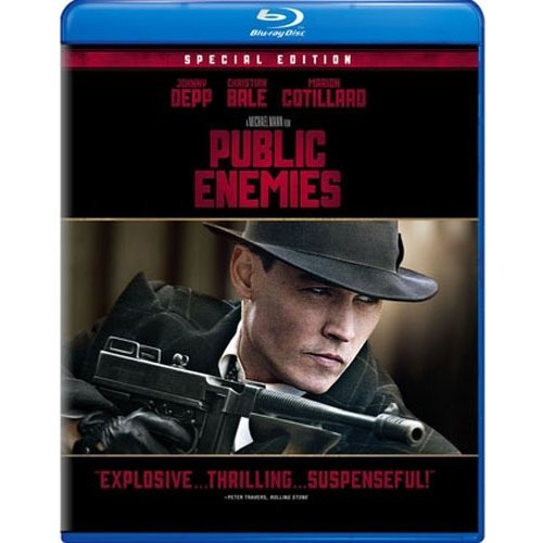 Public Enemies (Blu-ray) (With INSTAWATCH) (Widescreen)