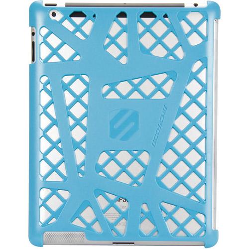 SCOSCHE IPD2HFBL The new iPad(R) 3rd Gen webKASE Sport-Style Polycarbonate Case (Blue)